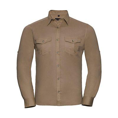 "Moška srajca dolgi rokav – ""Roll sleeve"""