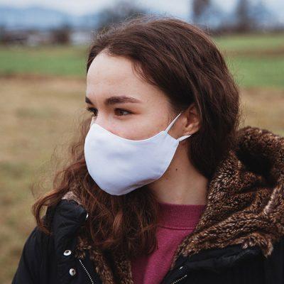 Higienska maska obojestranska – pralna – ženska WHITY Ž